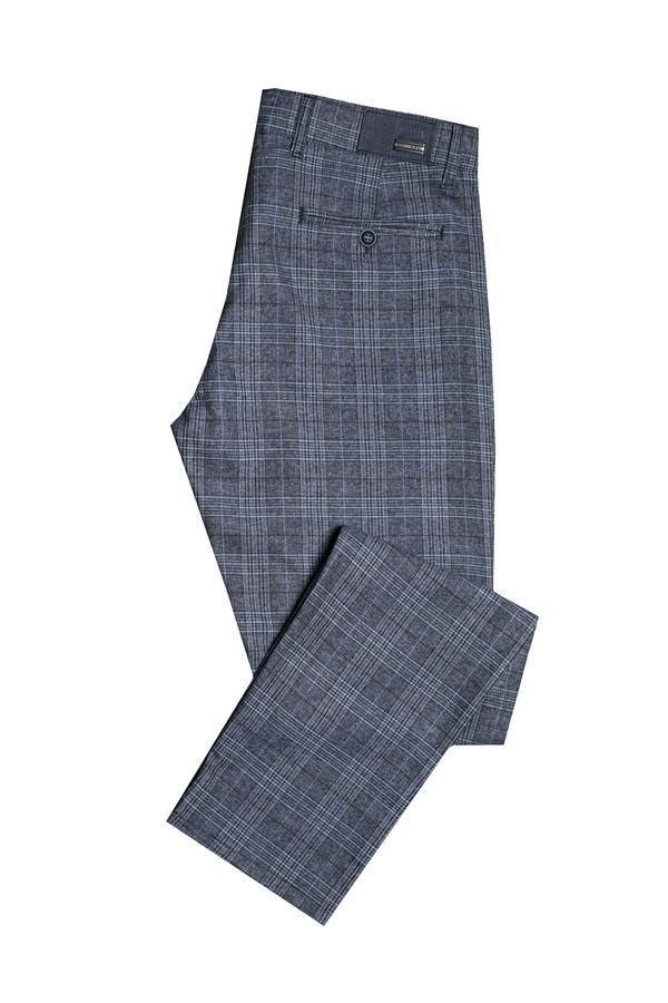Spodnie męskie w kratę online